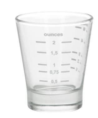 Espresso calibration  glass x 1