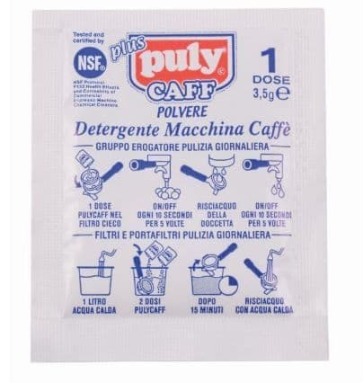 Puly Caff cleaner sachets x 10