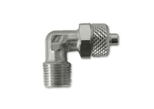 Pump  elbow fitting 1/8 x 4mm