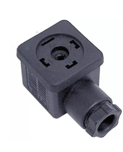 Solenoid coil connector