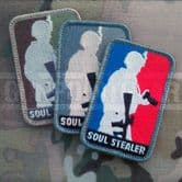 Mil-Spec Monkey Velcro Morale Patch Soul Stealer