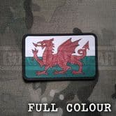 Gun Point Gear Welsh Dragon Flag PVC Patch