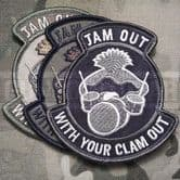 Mil-Spec Monkey Velcro Morale Patch Jam Out