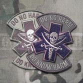 Mil-Spec Monkey Velcro Morale Patch Do No Harm Pirate