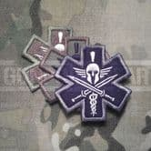 Mil-Spec Monkey Velcro Morale Patch Tactical Medic Spartan