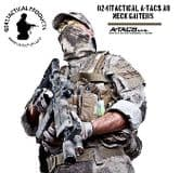 0241 Tactical A-TACS AU Neck Gaiter Cotton Jersey
