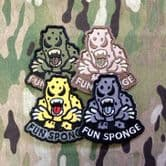 Mil-Spec Monkey Velcro Morale Patch Fun Sponge