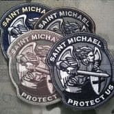 Mil-Spec Monkey Velcro Morale Patch Saint Michael Modern