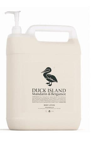 Duck Island 5 Ltr Refills for Body Lotion (Pump Not Included)