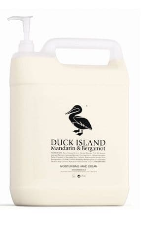 Duck Island 5 Ltr Refills for Moisturising Hand Cream Hand Lotion (Pump Not Included)