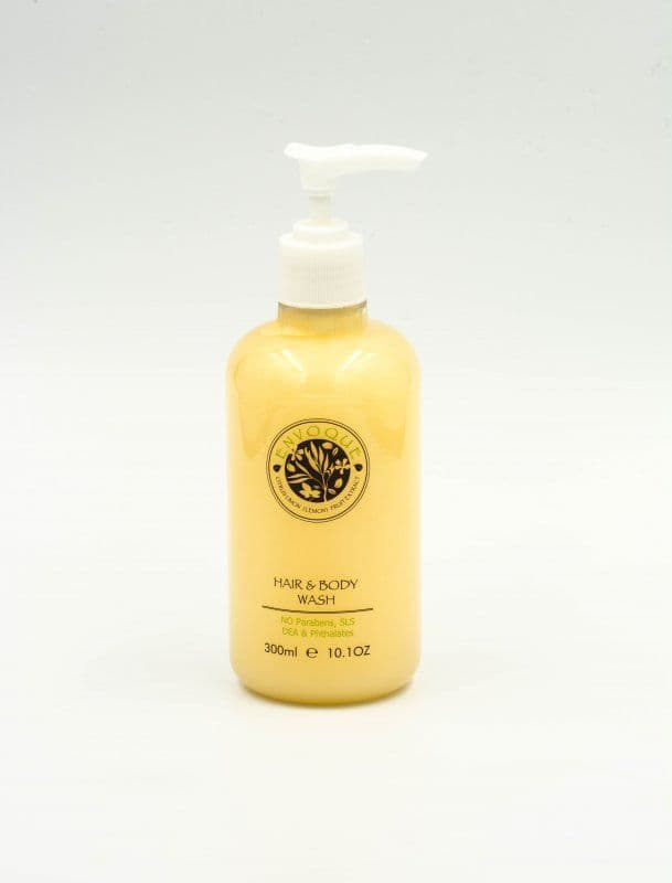 Envoque 300ml Hair/Body Wash - Refillable - (Brackets Available)
