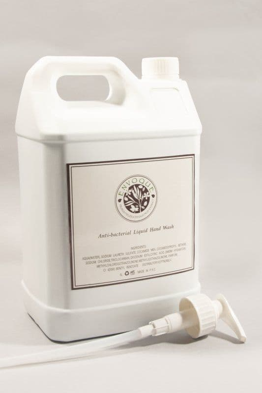 Envoque 5 Ltr Hand/Body Lotion Refill Bottle with Pump