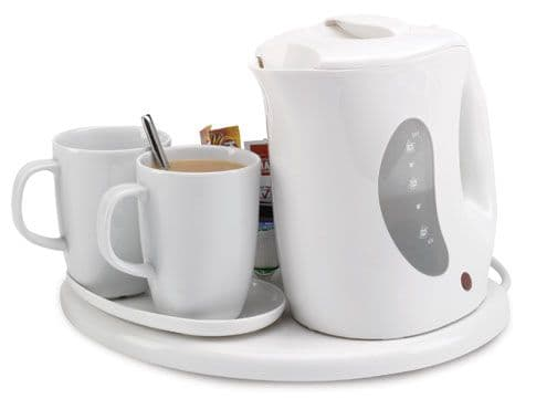 Northmace Hotel Safety Welcome Tray with Kettle - STANDARD