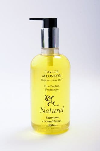 Taylor of London Natural Hotel Shampoo & Conditioner 300ml