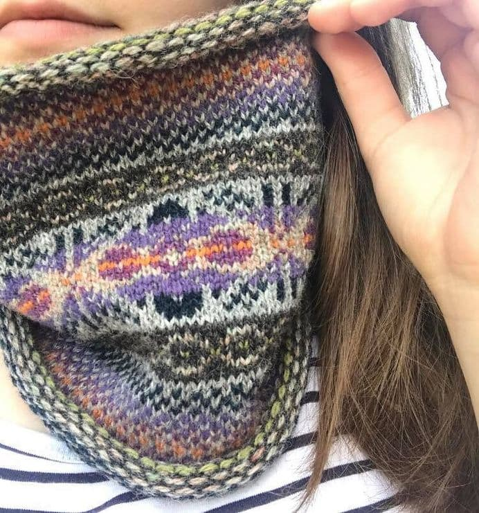 Curled Cowl in Billister Lights - Terri Malcolmson (Terri Laura)