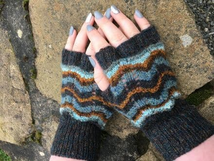 Gotland Lace Mitts - Wilma Malcolmson
