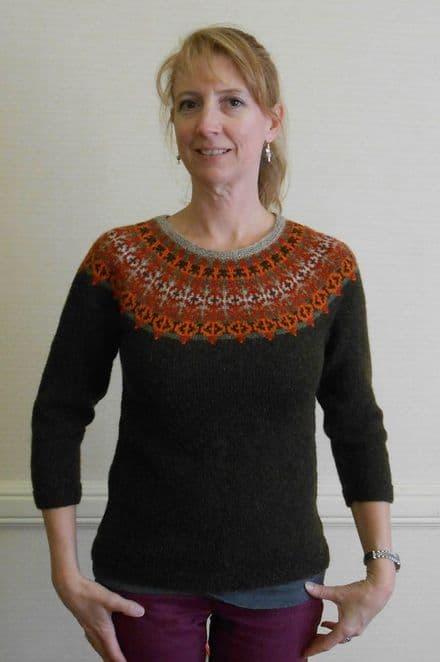 Helsinki Sweater - Janine Bajus