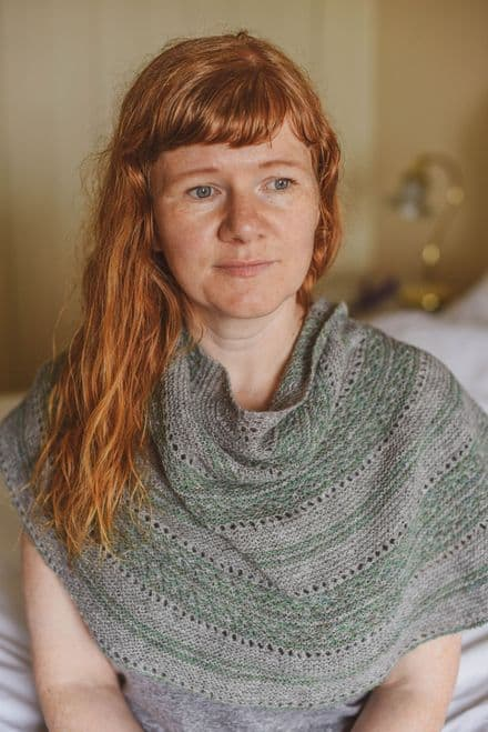 Mosaic Shawl - Gudrun Johnson