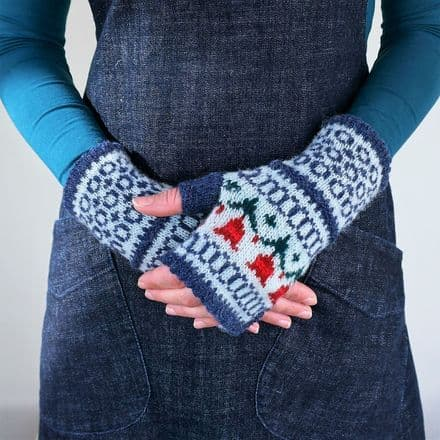 Papil Mitts - Donna Smith Designs