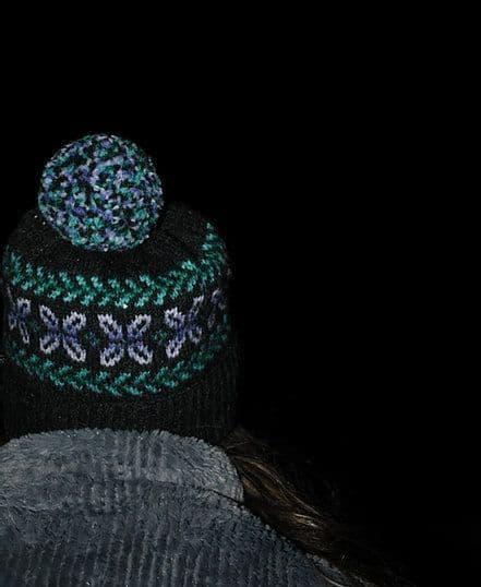 Winter Garden Hat - Nicole Estelle Designs