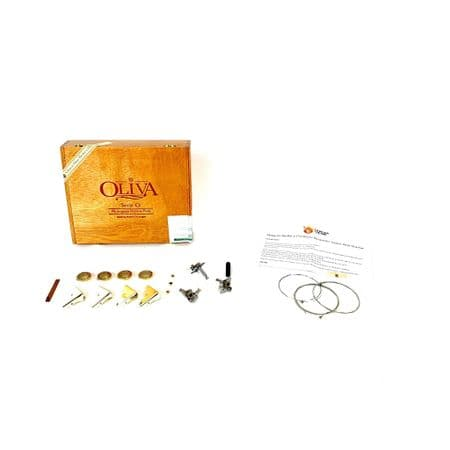 Cigar Box Guitar Kit 3 string Olivia Serie O plus components