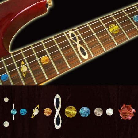 Planets  Fret Markers Inlay Sticker For Guitar