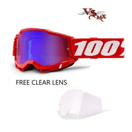 Accuri2 Goggle Adult Neon Red