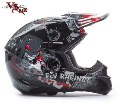 Fly Kinetic Youth Invasion Helmet Black