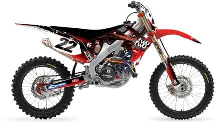 Honda TWOTWO Decal Kit CRF250 10-13 CRF450 13-14