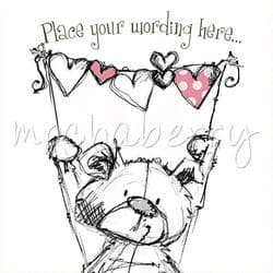 Personalised Female Card | Personalised Girl Cards | Cards For Her