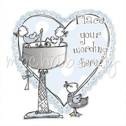 Personalised Boy Christening Card   Personalised Christening Cards