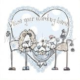 Blue Lion Family Personalised Card PLM34