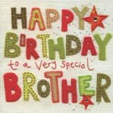 Brother Happy Birthday Card