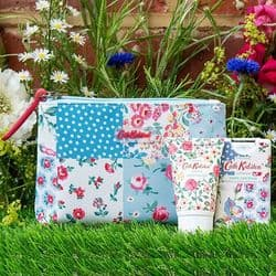 Cath Kidston Cottage Patchwork Cosmetic Pouch | mochaberry