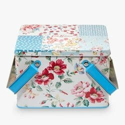 Cath Kidston Cottage Patchwork Pamper Tin Gift Set | mochaberry