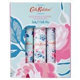 Cath Kidston Wild Rose and Quince Lip Balm Set