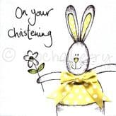 Christening Day - greetings card