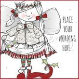 Christmas Fairy Personalised Card PX11