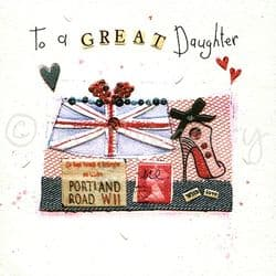 Daughter Birthday Cards | Daughter Cards | Daughter Greeting Cards