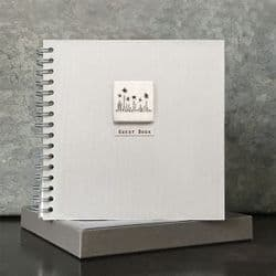 East of India Boxed Thread Guest Book - 1786   mochaberry