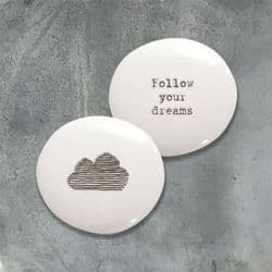 East of India Pebble - Follow Your Dreams - 4322   mochaberry
