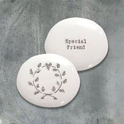 East of India Pebble - Special Friend - 4304 | mochaberry