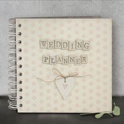 East of India Pocket Book Wedding Planner - 1759   mochaberry