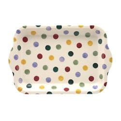 Emma Bridgewater Polka Dot Small Melamine Tray | mochaberry