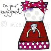Engagement - greetings card