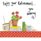 Enjoy Your Retirement Card - Alex Clark S31