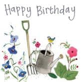Gardening Happy Birthday Card - Alex Clark S383