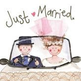 Just Married Card - Alex Clark S89