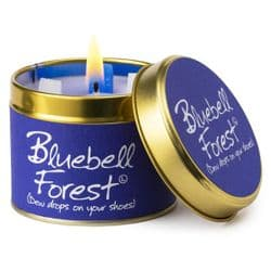 Lily-Flame Bluebell Forest Scented Candle Tin | mochaberry