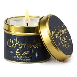Lily-Flame Christmas Eve Candle Tin   Scented Candles   mochaberry
